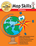 The Best of THE MAILBOX Themes: Map Skills (Grades 1-3)