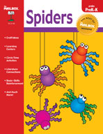 The Best of THE MAILBOX Themes: Spiders (PreK-K)
