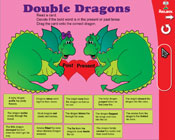Verb Tenses: Double Dragons (Grade 2) [Interactive Promethean Version]