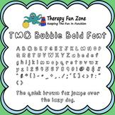 TMC Bubble font with commercial license
