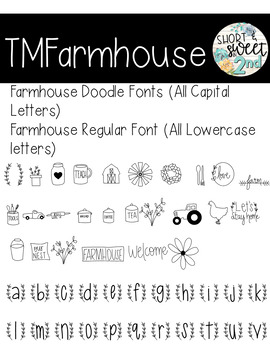 TMFonts Farmhouse