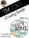 TMFonts Growing Bundle