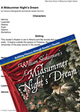 A Midsummer Night's Dream - Reader's Theater Script and Fl