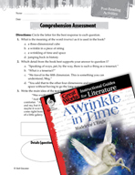 A Wrinkle in Time Comprehension Assessment (Great Works Series)