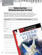 A Wrinkle in Time Making Cross-Curricular Connections (Great Works Series)