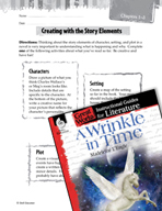 A Wrinkle in Time Studying the Story Elements (Great Works Series)