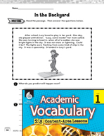 Academic Vocabulary Level 1 - Creating a Fantasy World