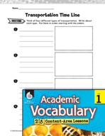 Academic Vocabulary Level 1 - How We Get Around