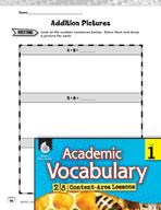 Academic Vocabulary Level 1 - Practicing Addition