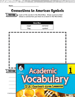 Academic Vocabulary Level 1 - Symbols of America