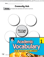 Academic Vocabulary Level 1 - Who Is In Your Community?