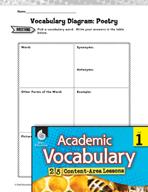 Academic Vocabulary Level 1 - Writing Poetry