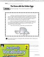 Academic Vocabulary Level 2 - A Familiar Tale