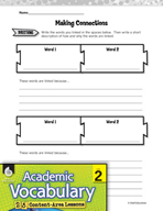 Academic Vocabulary Level 2 - Sorting 2-D Shapes