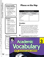 Academic Vocabulary Level 3 - Places on the Map