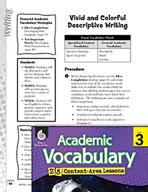 Academic Vocabulary Level 3 - Vivid and Colorful Descripti