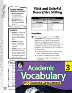 Academic Vocabulary Level 3 - Vivid and Colorful Descriptive Writing
