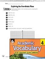 Academic Vocabulary Level 4 - Coordinate Planes
