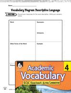 Academic Vocabulary Level 4 - Descriptive Language