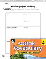 Academic Vocabulary Level 4 - Estimating Sums and Differences