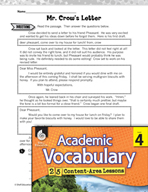 Academic Vocabulary Level 4 - Revising