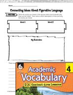 Academic Vocabulary Level 4 - Using Figurative Language