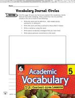 Academic Vocabulary Level 5 - Circles
