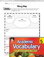 Academic Vocabulary Level 5 - Story Map