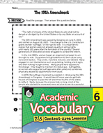 Academic Vocabulary Level 6 - 19th Amendment
