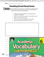 Academic Vocabulary Level 6 - Earned Income