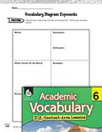 Academic Vocabulary Level 6 - Exponents