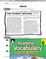 Academic Vocabulary Level 6 - Fact vs. Opinion