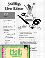 Adding - Jump the Line Activity
