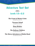 Adventure Text Set (Level 1.5-2.2)