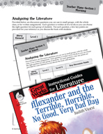 Alexander and the Terrible, Horrible - Leveled Comprehension Questions (Great Works Series)