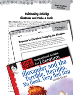 Alexander and the Terrible, Horrible - Post-Reading Activities (Great Works Series)