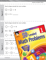 Algebraic Thinking Leveled Problem: Addition and Logic - Figure It