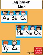 Alphabet Line by Karen's Kids