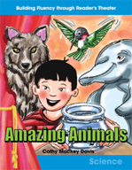 Amazing Animals Reader's Theater Script and Fluency Lesson