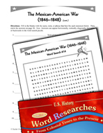 American History Word Researches: The Mexican-American War