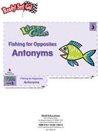 Antonyms - Fishing for Opposites Literacy Center