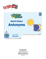 Antonyms - Match Maker Literacy Center