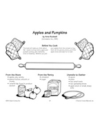 Apples and Pumpkins - Apple Slices and Dips Recipe