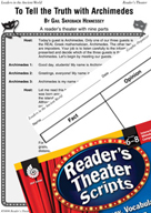 Archimedes Reader's Theater Script and Lesson