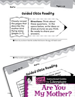 Are You My Mother? Close Reading and Text-Dependent Questions (Great Works Series)