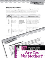 Are You My Mother? Leveled Comprehension Questions (Great Works Series)