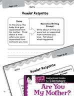 Are You My Mother? Reader Response Writing Prompts (Great Works Series)