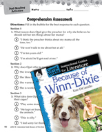 Because of Winn-Dixie Comprehension Assessment (Great Works Series)