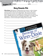 Because of Winn-Dixie Studying the Story Elements (Great W