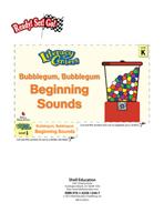 Beginning Sounds - Bubblegum, Bubblegum Literacy Center